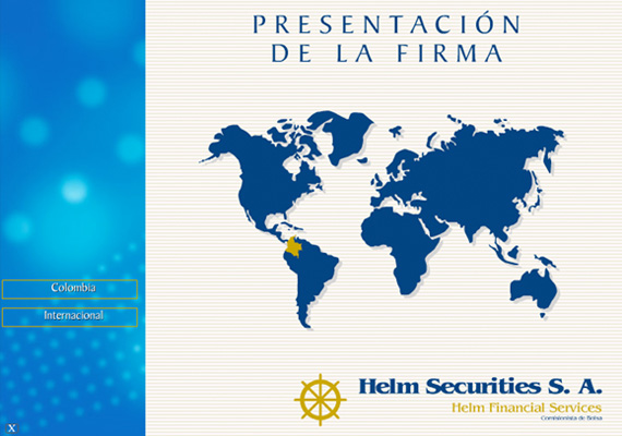 Multimedia  desarrollada para Helm Securities.